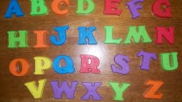 alfabeto em francês