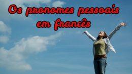 pronomes pessoais em francês