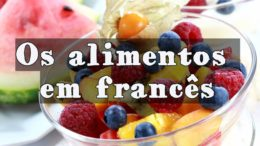 alimentos em francês