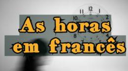horas em francês