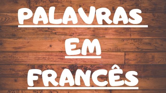 palavras em francês